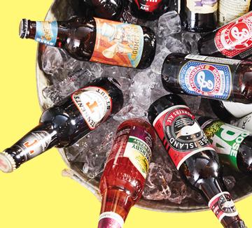 올해 새롭게 선보인 크래프트 맥주와 애플 사이다.::서울, 생활, 라이프, 애주가, 도시, 취향, 술, 음주 라이프, 맛집, 먹방, 데이트, 문화, 코스모폴리탄, COSMOPOLITAN