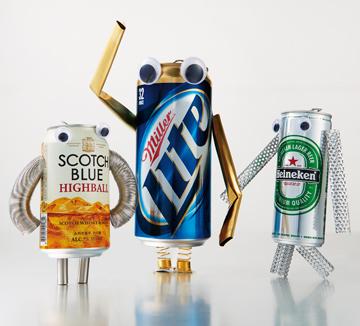 지금까지 우리가 알던 드링크가 아니다.  조금 이상하면서 많이 특별한 깡통 삼형제.::술, 알콜, 맥주, 위스키, 음주, 문화, 먹방, 드링크, 신상, 아이템, 코스모폴리탄, COSMOPOLITAN