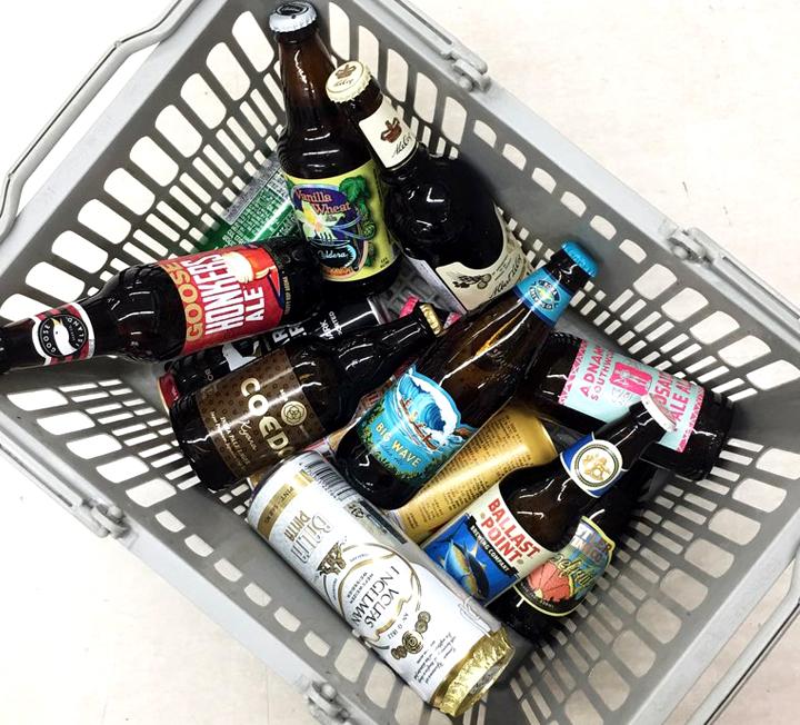 마음껏 골라 담아 9500원! 27개국, 200종의 맥주가 한데 모였다는 세계 맥주 페스티벌에 다녀왔다. 걸어서 근처 동네 마트로. ::오늘의장바구니, 장바구니, 맥주, 세계맥주, 맥덕, 홈플러스, 에일맥주, 밀맥주, 코스모폴리탄, COSMOPOLITAN