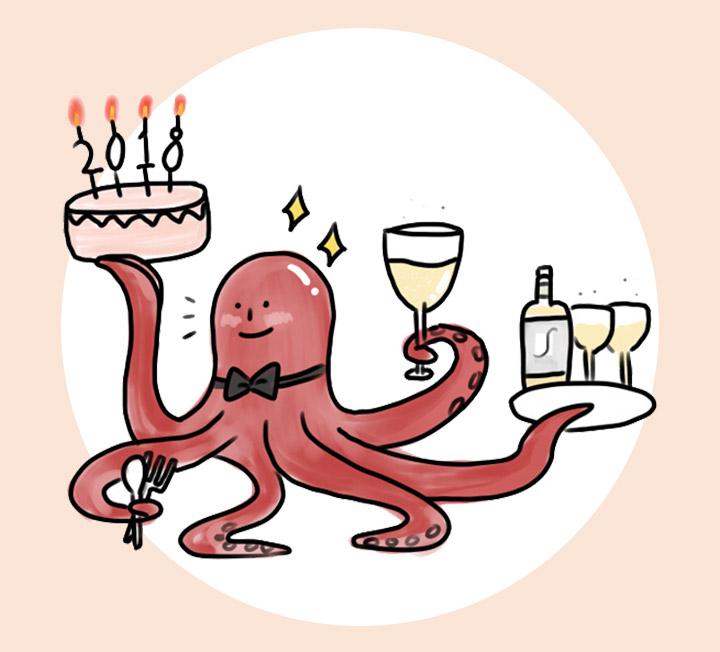 성공적인 홈 파티를 위한 문어 카르파초 그림 레시피. ::문어, 카르파초, 요리, 술안주, 코스모폴리탄, COSMOPOLITAN