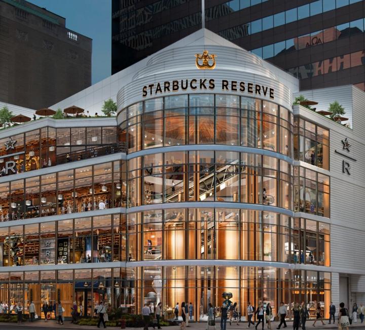 시애틀의 스타벅스 1호점보다 훨씬 크다.