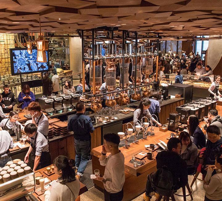 시애틀에 이은 두 번째 로스터리 매장이다.