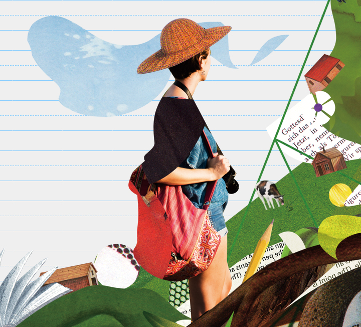 여름만 되면 치솟는 항공 요금과 숙박비를 감수하고 남들 가는 곳으로 우르르 따라가는 휴가가 지겨운 사람에게 전하는, 떠나지 않고 떠나는 여행법. ::여행, 휴가, 일상, 마음, 코스모폴리탄, COSMOPOLITAN