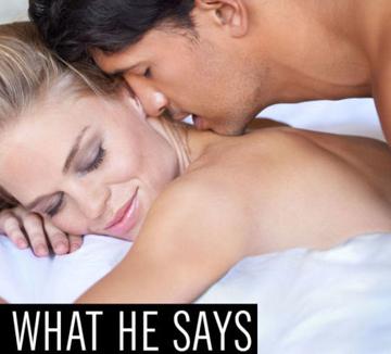 침대 위에서 그가 한 말, 사실 다른 속뜻이 있었다는 사실!::섹스, 러브, 연애, 연인, 남자, 본심, 19금, 침대, 여자, 애인, 코스모폴리탄, COSMOPOLITAN