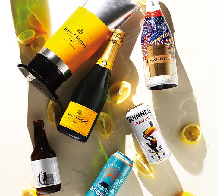 뜨거운 여름, 시원한 한 모금.::술, 알콜, 맥주, 신상, 여름, 코스모폴리탄, COSMOPOLITAN::