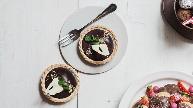 DIY 초콜릿 레시피 - 초코 타르트