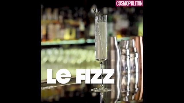 칵테일 만들기 1탄 - Le Fizz