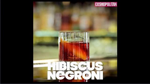 DIY 칵테일 만들기 3탄 -Hibiscus Negroni