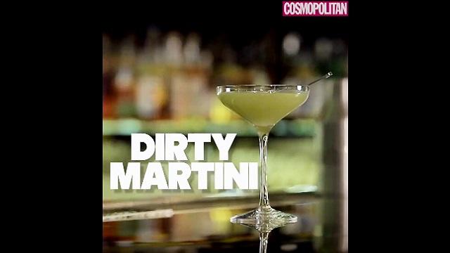 DIY 칵테일 만들기 5탄 - Dirty Martini