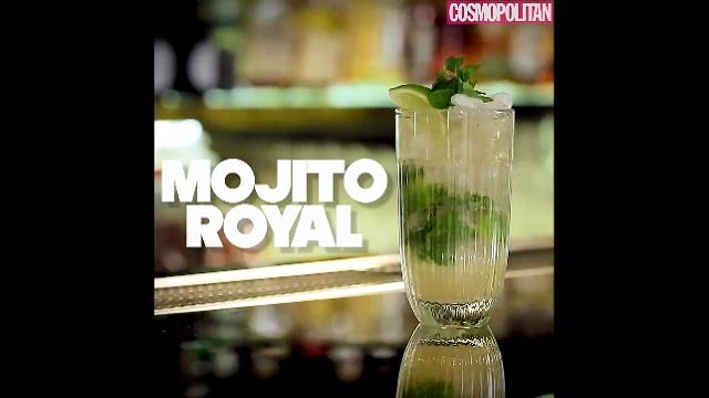DIY 칵테일 만들기 7탄 - Mojito royal